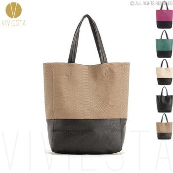 Two tone большой сумочка сумка - женская вертикальная Кожа PU является высокотехнологичным ...
