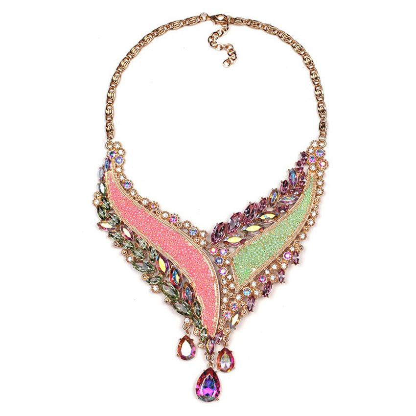 Shourouk Choker Necklace Women Vintage Accessories Fashion Jewelry Statement Necklace 2016 Ras De Cou Big Pendant Necklace(China (Mainland))