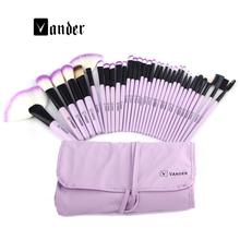 Professional Makeup Brushes Set High Quality 32 Pcs Makeup Tools Kit Premium Full Function Blending Powder Foundation Brush(China (Mainland))