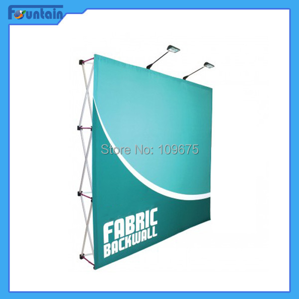 10ft Protable Trade show Fabric Display Pop Up Display Systems(China (Mainland))