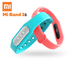 2015 New Original Xiaomi Mi Band 1S Smart Wristband Xiaomi Miband Bracelet 1 S IP67 Heart Rate Monitor Bluetooth For Android IOS