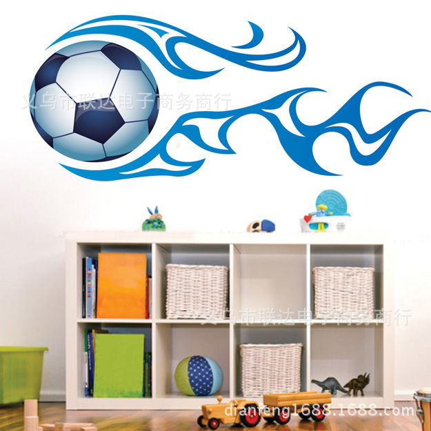 New generation removable pvc sport boys wall stickers room for Room decor jeneration
