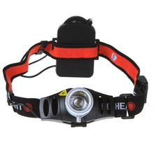 Zoomable 500Lm CREE Q5 LED Scheinwerfer Scheinwerfer Stirnlampe Licht 2-Mode Taschenlampe + 1 xAAA Batterie Halter für Angeln Lichter(China (Mainland))