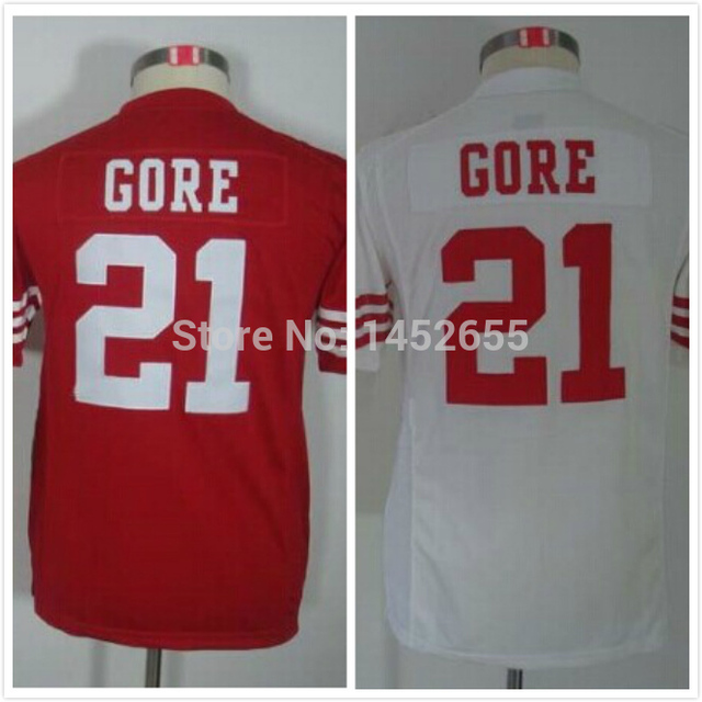Best quality#21 Frank Gore Jersey,Youth/Kids Football Jersey,Best quality,Authentic Jersey,Wholesale Price