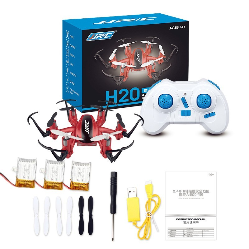 Mini RC Drone 6 Axis Rc Dron Jjrc H20 Micro Quadcopters Professional Drones Flying Helicopter Remote Control Toys Nano Copters