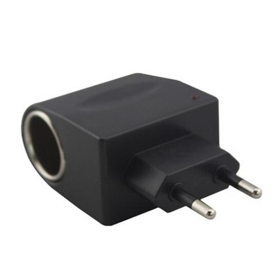 EU 12V Household Car Charger Cigar Cigarette Lighter 90V-240V AC to 12V DC Car Power Adapter Converter(China (Mainland))