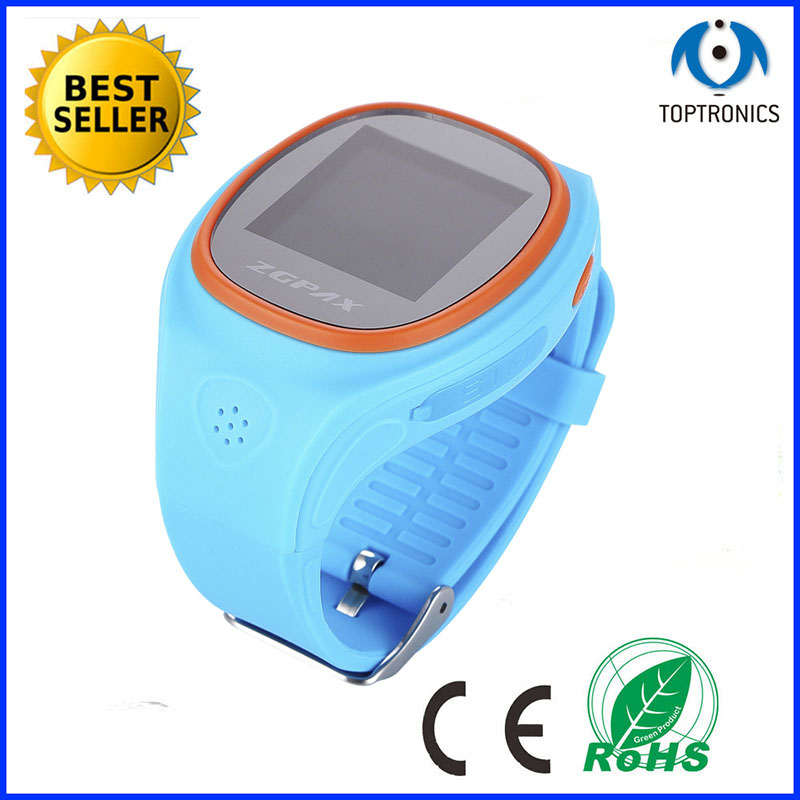 China shenzhen latest smart watch mobile phone for kids wrist hiddenGSM/ gps/WIFI tracker with Platform service for Children use(China (Mainland))