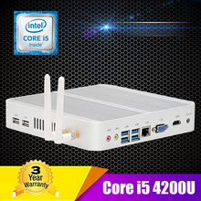 16GB RAM 128GB SSD 1TB HDD Intel i5 Mini PC Windows 10 Core i5 4200U Processor Small Computer Mini PC i5 Dual Gigabit LAN 4HD(China (Mainland))