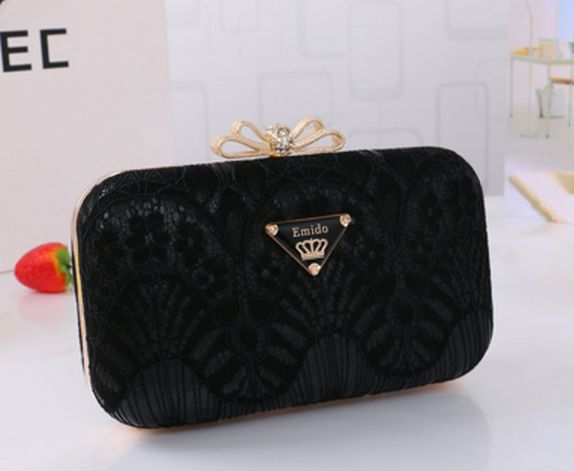 Free shipping Hot candy colors crown flowers hasp women clutch Fashion lovely lace chains banquet bag women should messenger bag<br><br>Aliexpress
