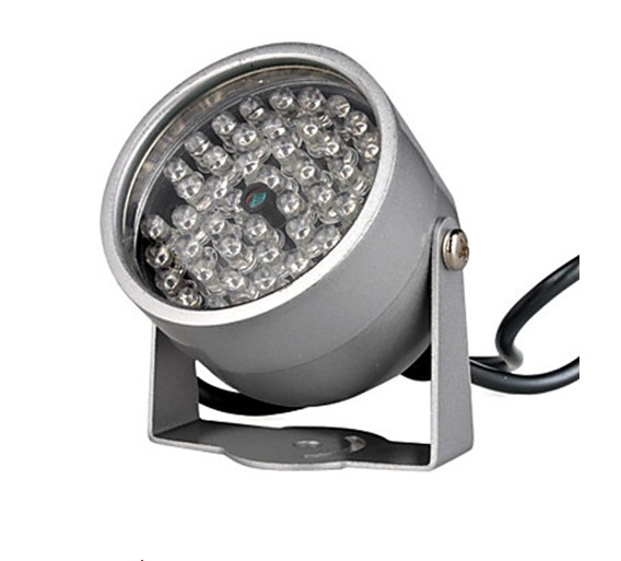 850NM Infrared Illumination Light with 48 IR LEDs for Night Vision CCTV Camera DC 12V(China (Mainland))