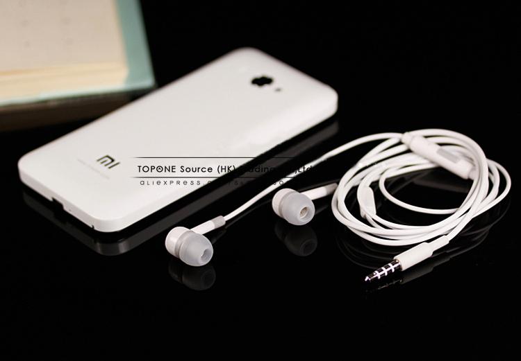 10pcs lot New XIAOMI Earphone Headphone with Remote Mic For XIAOMI MI2 MI2S MI2A Mi1S M1