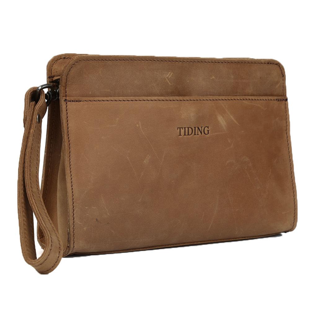 Discount Designer Clutch Purses Genuine Leather Handbag for Men Women D4022(China (Mainland))