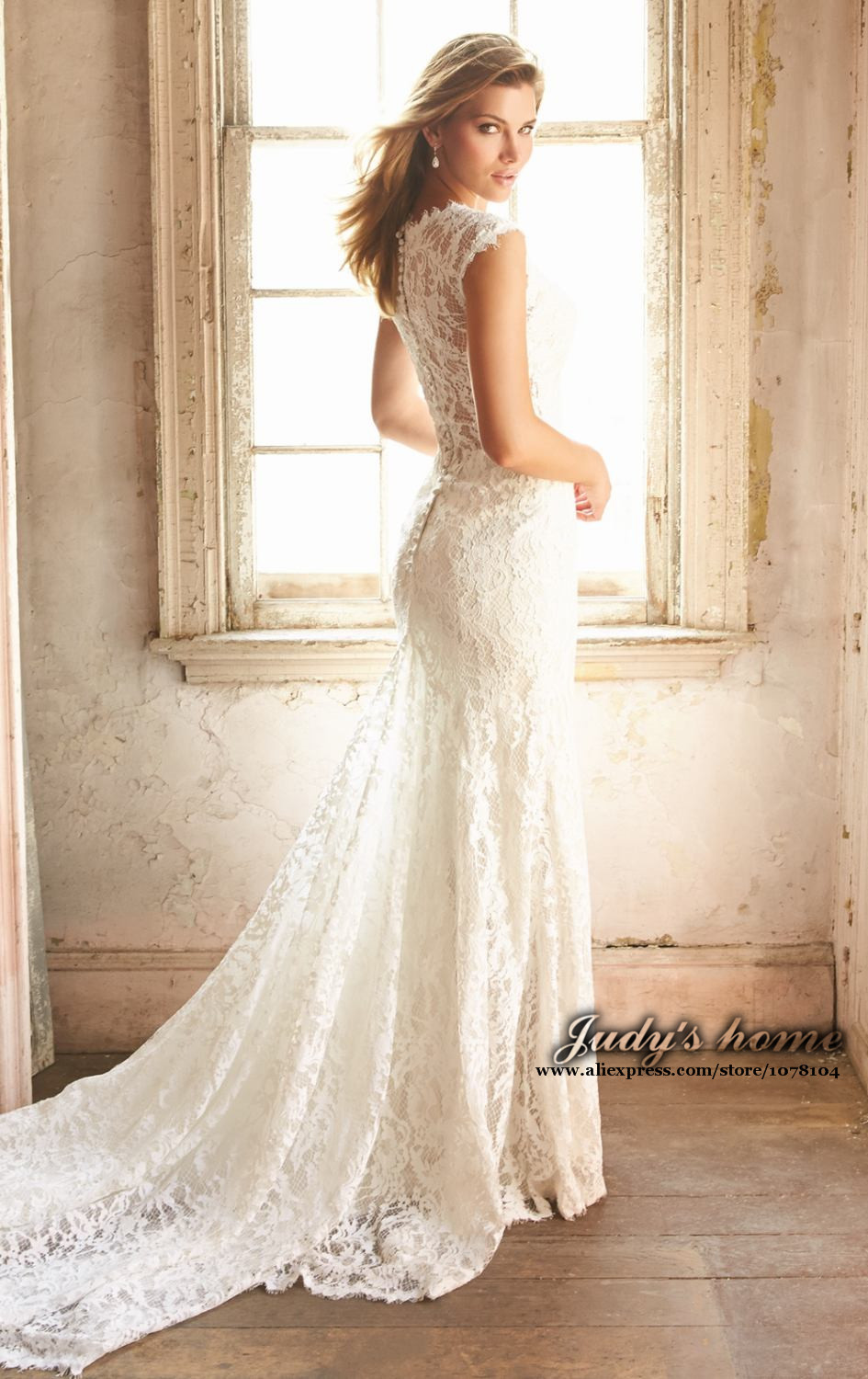 Lace back wedding dress designers dress blog edin for Wedding dresses lace back