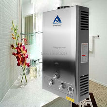 America Shipping! 12L LPG GAS Hot Water Heater Propane Tankless Instant Boiler Stainless Steel CE(China (Mainland))