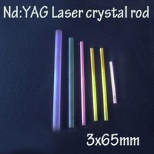 3x65mm Nd: YAG laser crystal rods(China (Mainland))
