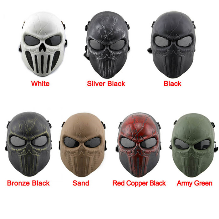 DC-12 Chastener Ear-protective Mask CS Airsoft Paintball Full Face Mask Halloween Wargame Field game Cosplay Movie Prop Mask(China (Mainland))