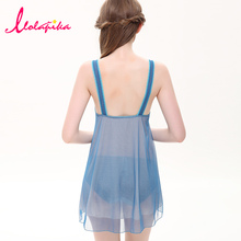 2015 New Summer Style Women Nightgowns Dress Sexy Deep V neck Sleeveless Nightgown Embroidery Decor Mini