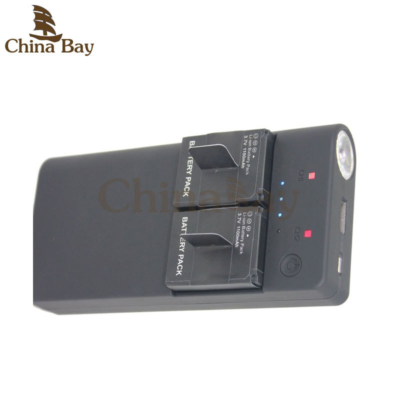 7500mAh Portable External Battery USB Power Bank Charger backup powerbank for GoPro HERO 3, Hero3, Hero3+ and Mobile Phone(China (Mainland))