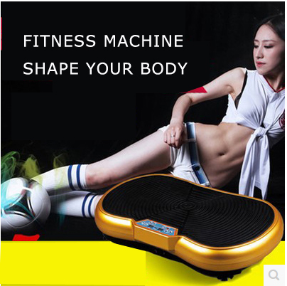 S27 free shipping household fitness equipmemt, crazy power fitness vibration plate , crazy fit massage vibration machine,(China (Mainland))