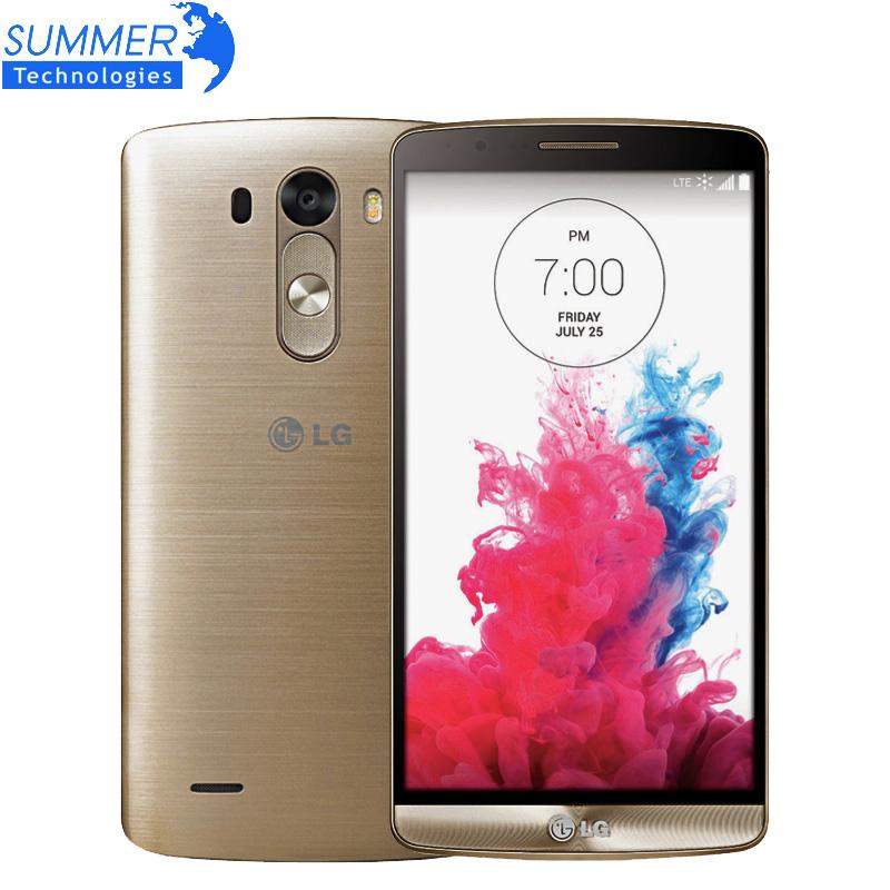 "Original Unlocked LG G3 D855 D850 Cell Phones 5.5"" Quad Core 3GB RAM 32GB ROM 13MP NFC Andriod Mobile Phone Refurbished(China (Mainland))"