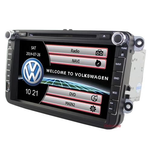 8 Inch Car DVD for VW GOLF 5 Golf 6 POLO PASSAT CC JETTA TIGUAN TOURAN EOS SHARAN SCIROCCO TRANSPORTER CADDY+Canbus,GPS,Radio(China (Mainland))