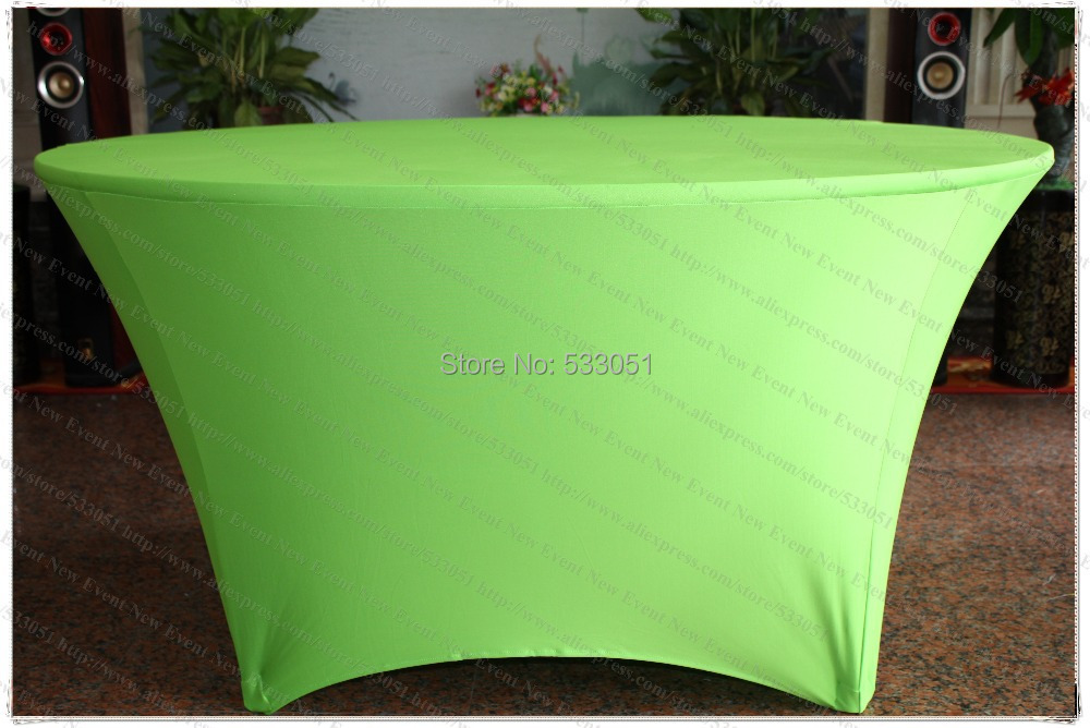Apple Green Spandex Table Cover/Lycra Tablecloth/Chair Sash/Chair Covers/Napkin For Wedding Party Hotel Banquet Home Decorations(China (Mainland))
