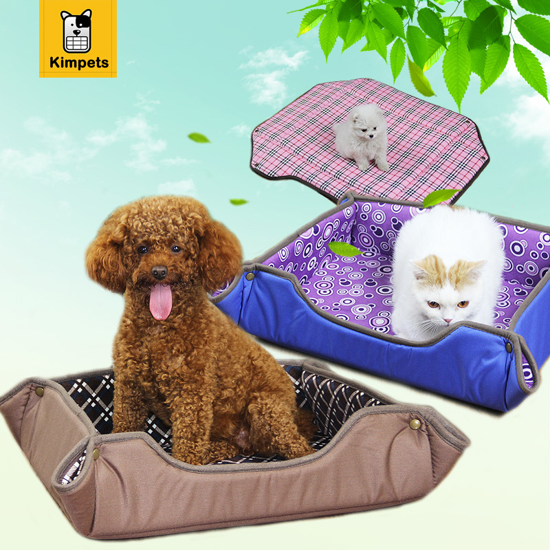 2016 New High Quality Multifunctional Dog Mat 3 Size Pet Bed Collapsible Dog House Waterproof Oxford Dog Sofa Washable Cat Mat(China (Mainland))
