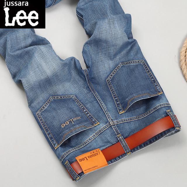 Новая Мода 2016 известный бренд мужчин джинсы Летние мужские Джинсы прямо молодежные ...