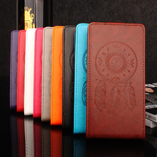Buy Homtom HT16 Case Flip PU Stick Card Slot Wallet Magnetic Wind Chimes Pattern Vintage Phone Case Homtom HT16 for $4.99 in AliExpress store