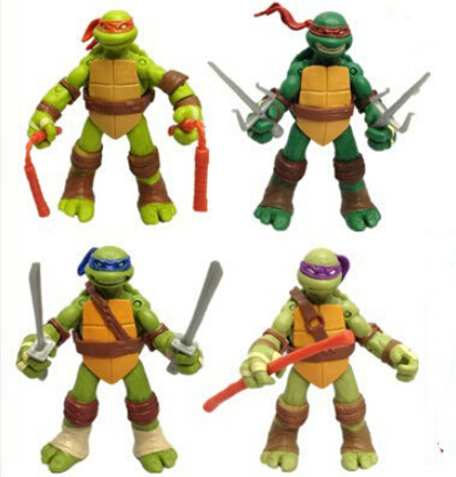 Hot Teenage Mutant Ninja Turtles 88 Classic Anime Action Figure 4.7inch Toys - United States Good Service Best Price store