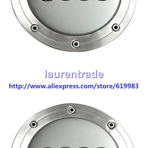 4pcs 148mm Car Wheel Center Hub caps Rims cover  Emblem Fit for Audi S6 C5 A4 A3 A8 RS3 RS6 TT ALLROAD,4B0601165A, 4B0 601 165A