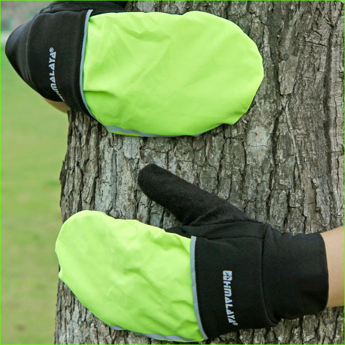 Windproof Winter Running Gloves with Cover Men Women Sports Glove for Hiking Fishing Riding
