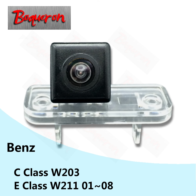 BOQUERON for Mercedes Benz E Class W211 01~08 C Class W203 SONY Waterproof HD CCD Car Camera Reversing Reverse rear view camera(China (Mainland))