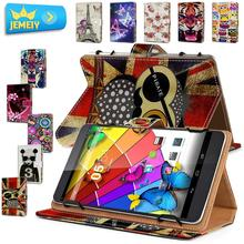 7'' Tablet Case For Cube U25GT/ Cube Talk 7XS / Cube T7 leather cover , Minions Printed Universal tablet Case For Cube Tablet