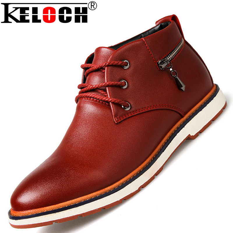 New 2015 Autumn Men Ankle Boots England Style Fashion Pu Leather Ankle Boots Men Bottes High Quality