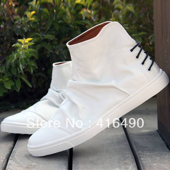 2013 Fashion Discount Men's Winter Boots Clearance Trend Casual Men Male High-top Shoes - Mike yuan's store
