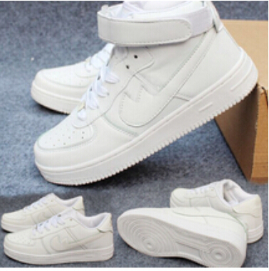 Free Shipping 2015 Newest Classical Sneakers All White Aires For Fashionable Men And Women Forces 1 Casual Sport shoes(China (Mainland))