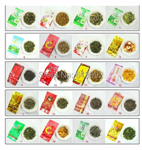 20 pcs 20 Different Flavor Famous Tea Chinese Tea ,vaccum packed oolong tea ,free shipping