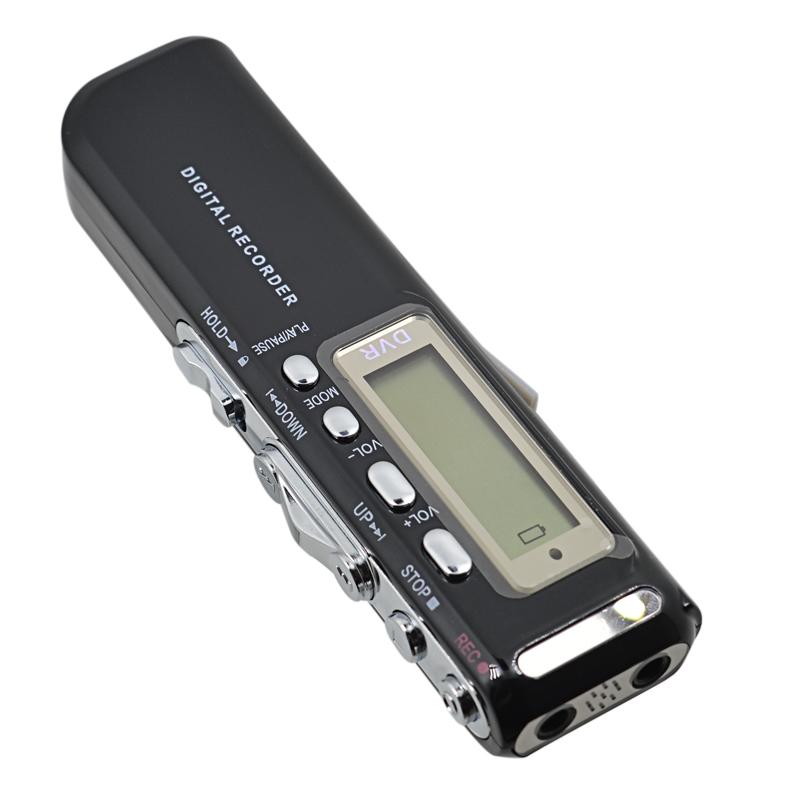 VOR Digital Voice Recorder 8GB Activated Mini Dictaphone WAV Audio Pen gravador de voz Professional