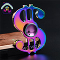 Dollar shape Colorful Finger Gyro Hand Spinner Metal Alloy Material For Autism And ADHD Rotation Time