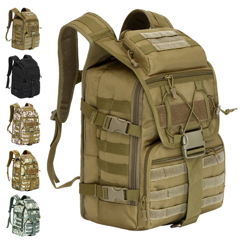 Extra Large 40L Men*Women's 3D waterproof Molle backpack military 3P Tad Tactical Backpack assault travel bag