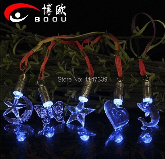 2014 Best Selling Colorful Flashing LED Necklace/LED necklace,light up necklace,flashing necklace(China (Mainland))