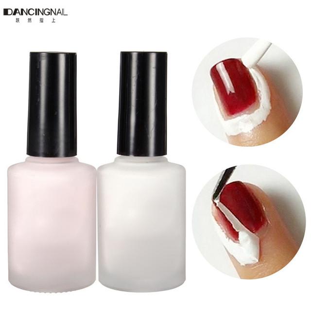 Профессиональный 15 мл 2 цветов отшелушивающая жидкость ногтей лента латекс лента ...