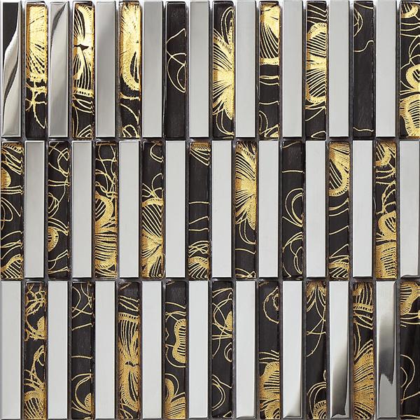 SA053-6,High quality glass steel mosaic tile,Glass brick,3d wall tiles,Kitchen backsplash tiles.(China (Mainland))