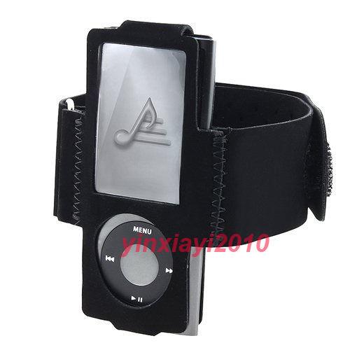 New Black Sports Armband case For Apple iPod Nano 5 5th Generation(China (Mainland))