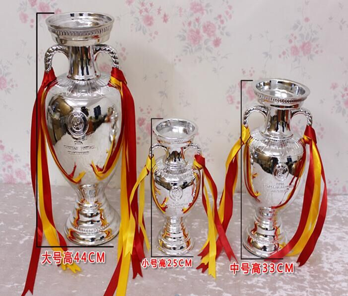 Henri Delaunay Trophy Cup for 2016 French European Cup Model 45cm Height Football Fans Souvenirs Trophy Soccer Fans Collectibles(China (Mainland))