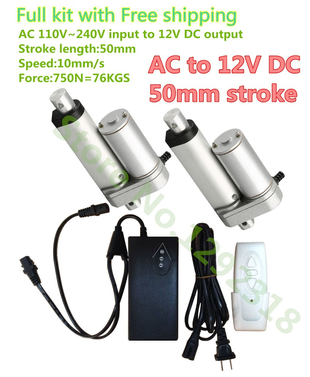 New arrived wireless control system 12V DC linear actuators remotes controller for home appliance etc.(China (Mainland))