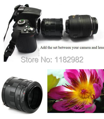 Meike Metal Macro Extension Tube Ring for S@ny Alpha / Minolta mount A37 A65 A77 A200 A300 A350 A500 A550 A850 A900<br><br>Aliexpress