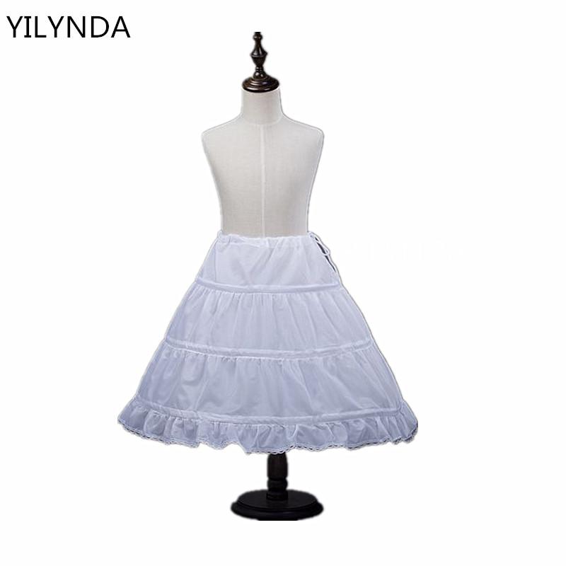 kids skirts for girls Fluffy Tutu Skirts Baby white jupon underskirt tutu skirts girls Princess Dance Party Tulle Skirt