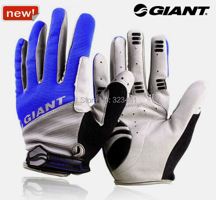Giant Cycling Gloves Full Finger Men Women Winter Warm guantes ciclismo MTB Racing Bike Bicycle gloves Black Red Blue - Challenger store
